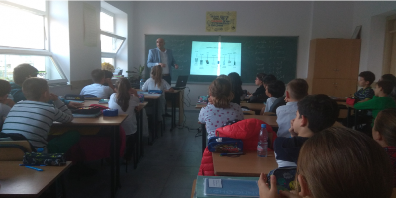 Third Cycle of lessons in Albanian school
