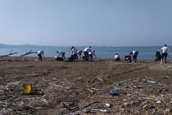 Adriatik beach-Albania, Fifth beach cleaning operation